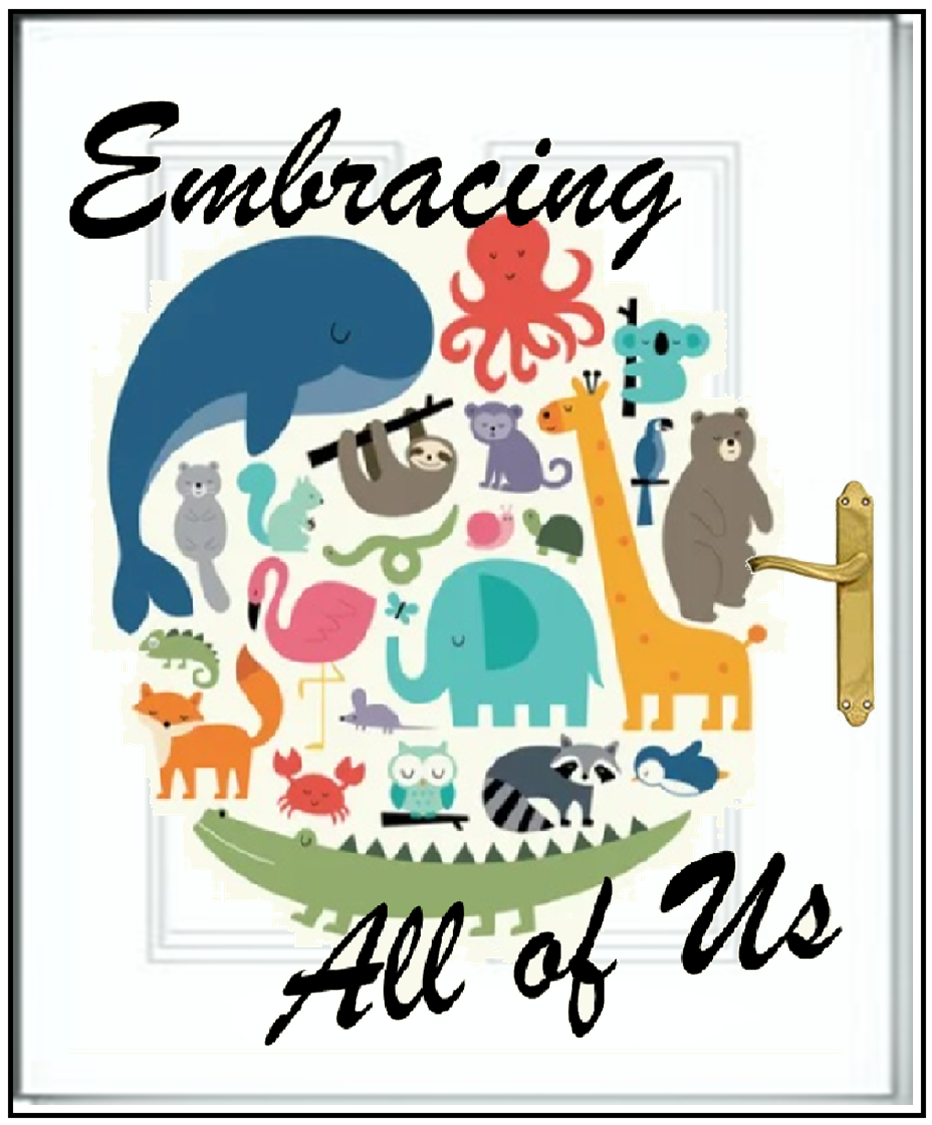 "Door graphic with ""Embracing All of Us"" written on it.  Clicking will navigate to the ""Embracing All of Us"" page."