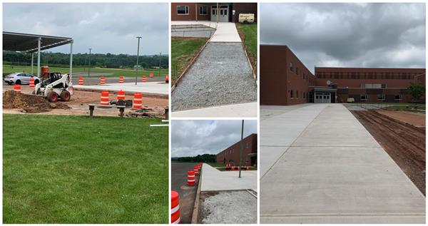 MHS Sidewalk Replacement